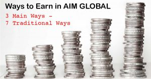 3 Main Ways to Earn in AIM Global