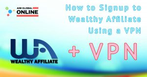 WA Signup with VPN