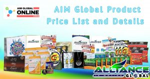 AIM Global Products Price List