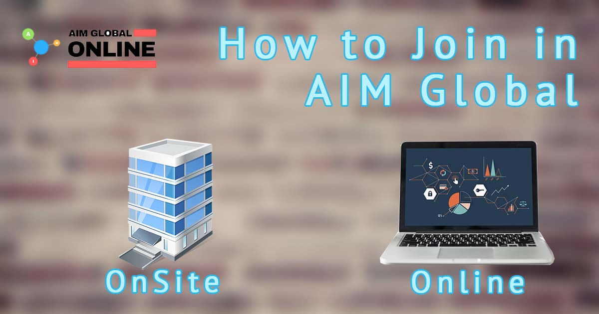 How to Join AIM Global