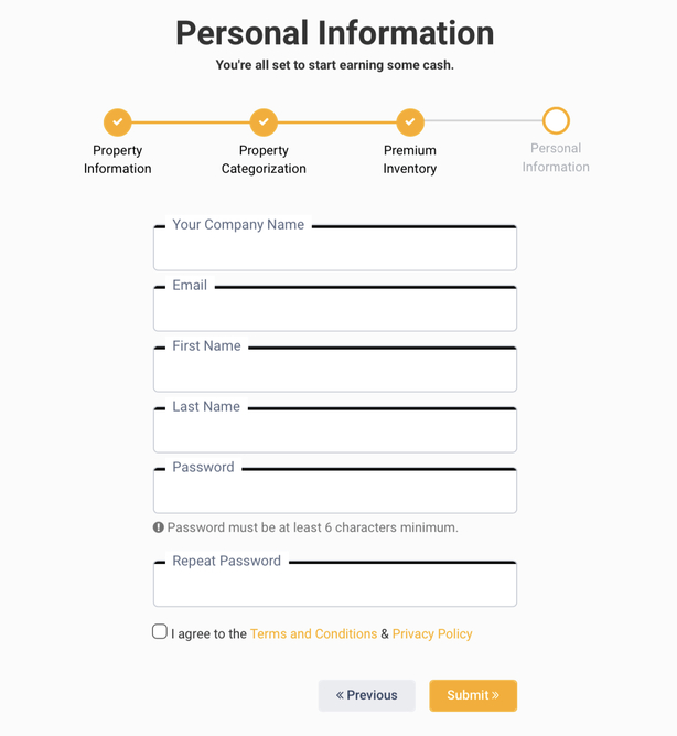 Involve Asia: Personal Information
